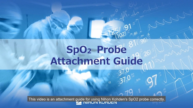 Nihon Kohdne SpO2 Probe Adult Education and Use